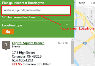 Huntington Bank Locations Near Me