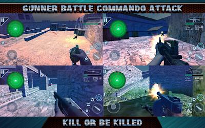 Gunner Battle Commando Attack v 3.9 APK MOD Money Terbaru