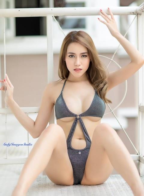 Girl Thái Diện Bikini Một Mảnh Độc Đáo