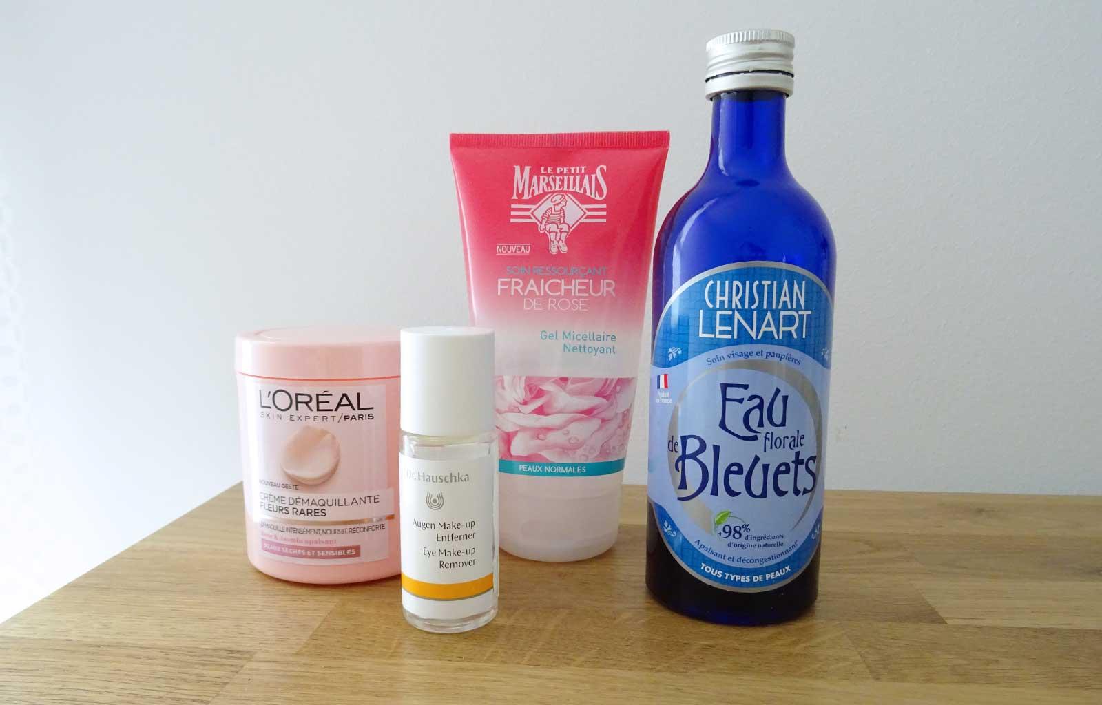 produits terminés nettoyants visage / démaquillants