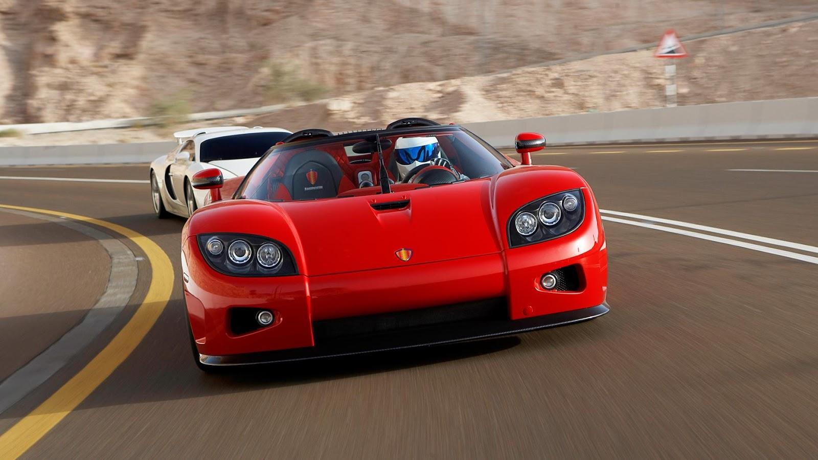 3: Tất cả siêu xe Koenigseggs