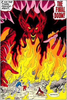 Fantastic Four #276 splash page