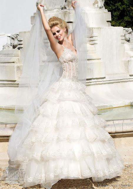 Swarovski Crystal Jacket Wedding Dresses