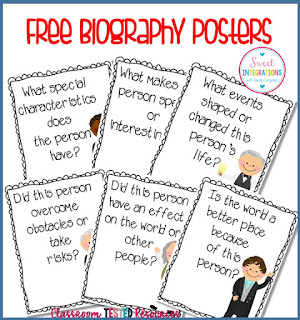Free biography posters