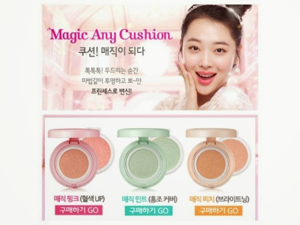 [Review] Etude Magic Any Cushion Mini - Pink, Peach, and Mint