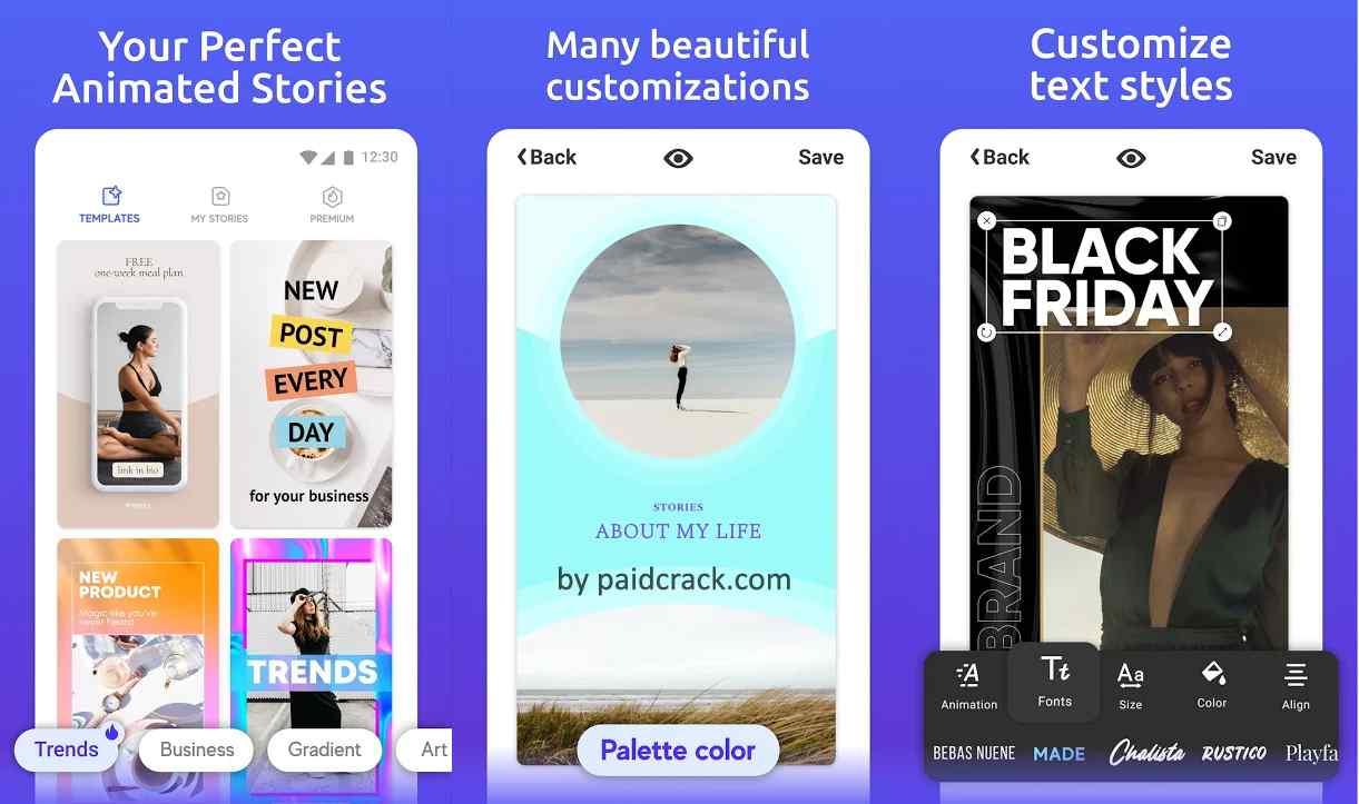 Inspiry - Stories Editor for Instagram Pro Mod Apk 0.7.1