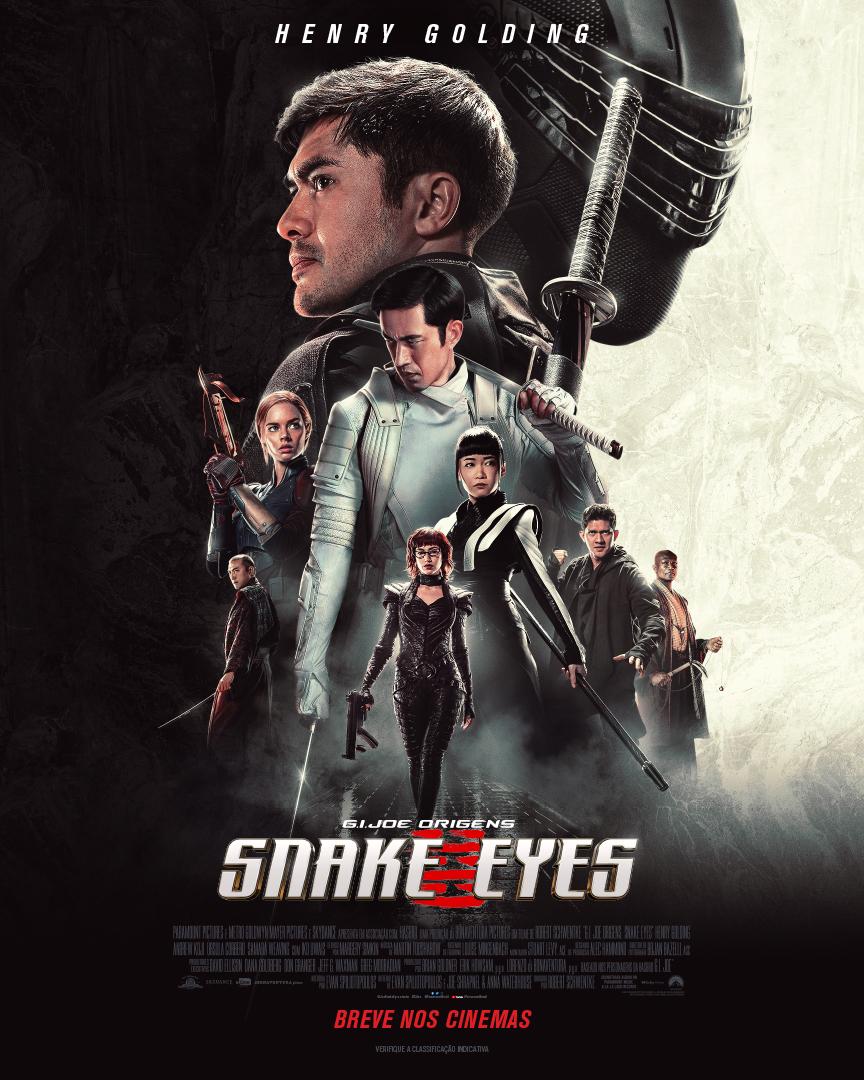 Trailer de 'G.I. Joe Origens: Snake Eyes' é pura adrenalina!