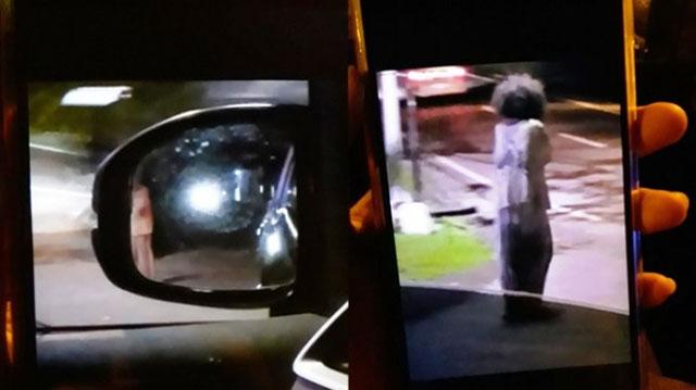 Taksi Dihadang Hantu Semarang