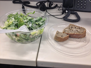 SweetGreen Caesar Salad with Buckwheat Bread