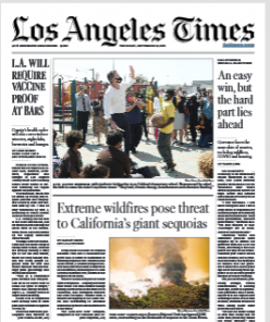 Read Online Los Angeles Times Magazine 16 September 2021 Hear And More Los Angeles Times News And Los Angeles Times Magazine Pdf Download On Website.