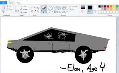 Tesla CyberTruck Meme by @techgeeksco on Instagram