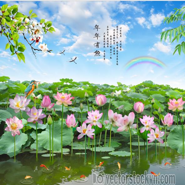 Tranh Hồ Sen