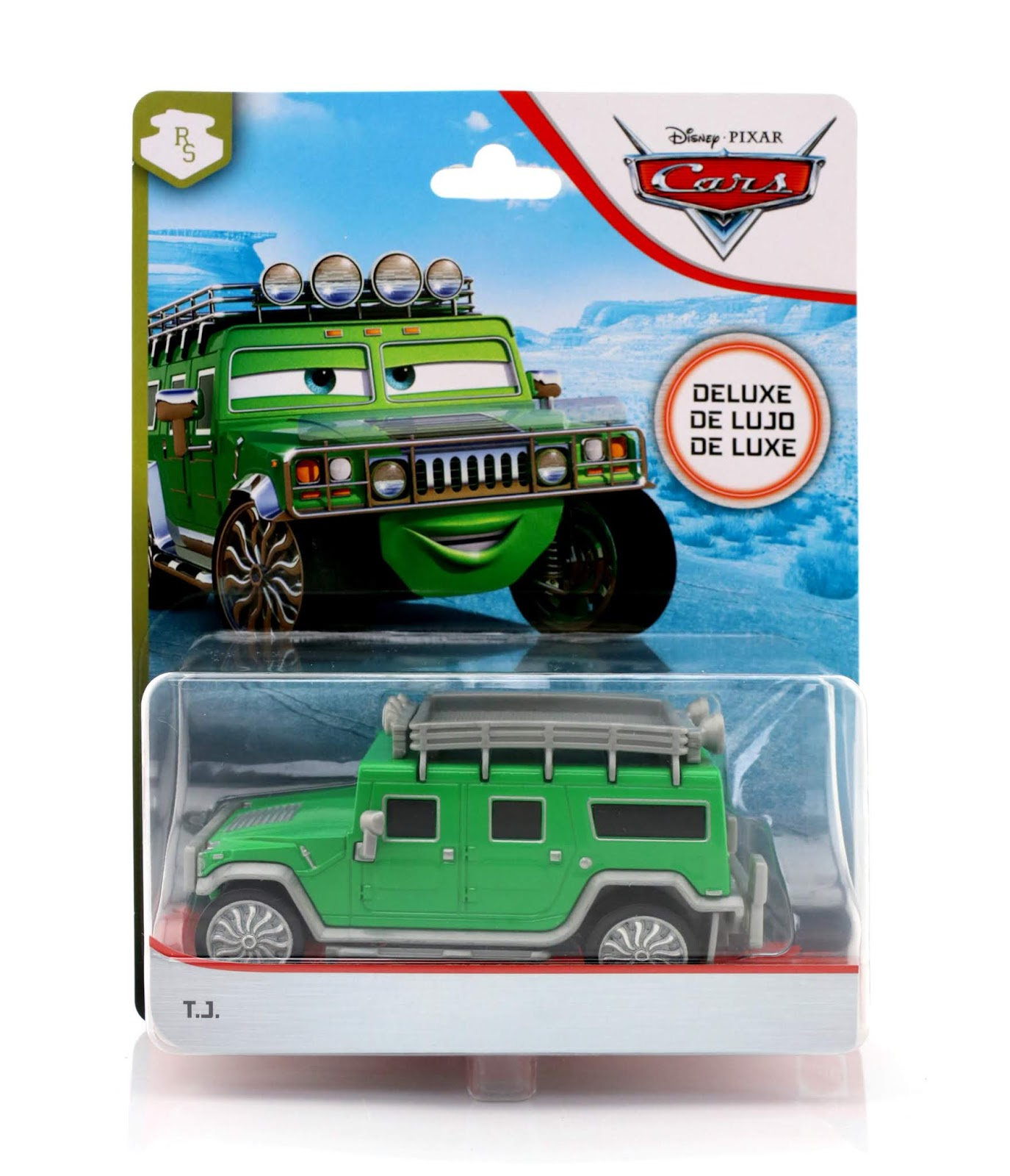 Cars diecast T.J. Hummer (Deluxe)