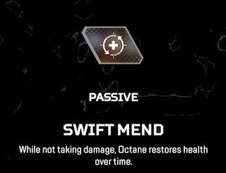 Swift Mend  Octane Apex Legends Passive Ability