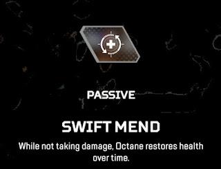 Swift Mend  Octane Apex Legends Passive Ability
