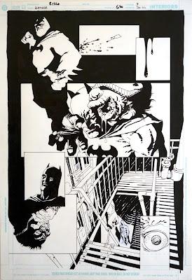 Dibujos de Eduardo Risso para Batman