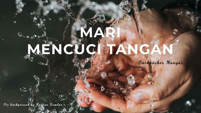 Mencuci tangan kebiasaan baik hidup sehat