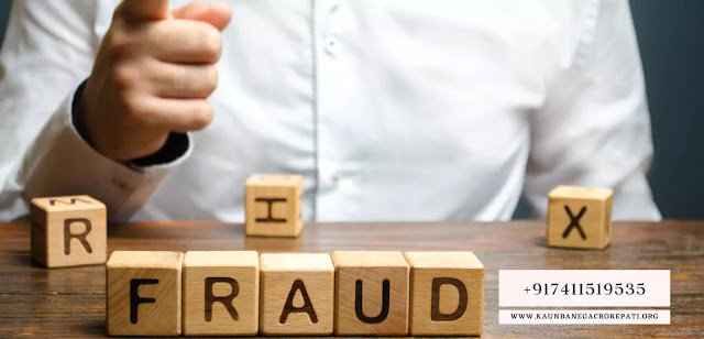 KBC official website 25 lakh lottery fraud