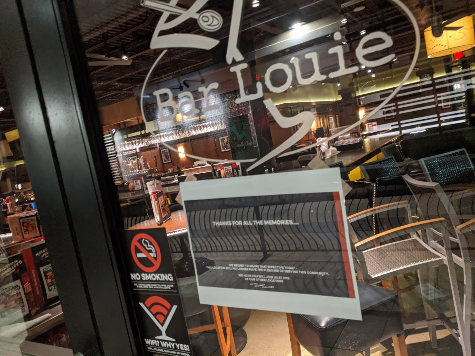 Bar Louie in Strongsville abruptly closes