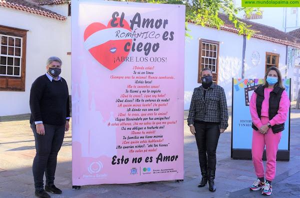 """Los Llanos de Aridane lanza la campaña """"El amor romántico es ciego"""" con el fin de promover relaciones sanas e igualitarias"""