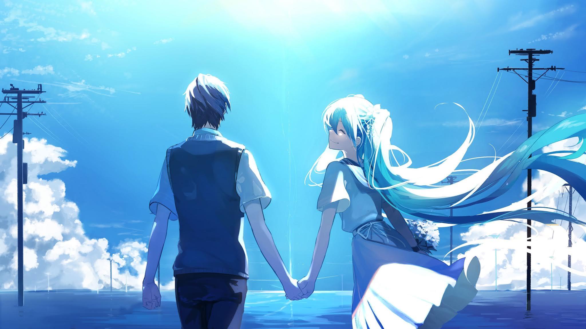 anime romance wallpapers