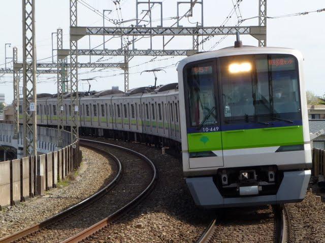 京王電鉄 快速 京王多摩センター行き4 都営10-300形