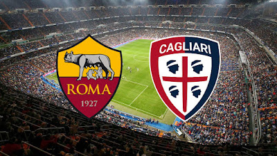 مباراة روما وكالياري الان