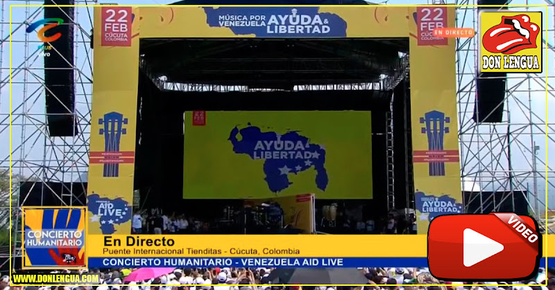 Fundación Venezuela Aid Live aclara que aún no le ha entregado el dinero a Juan Guaidó