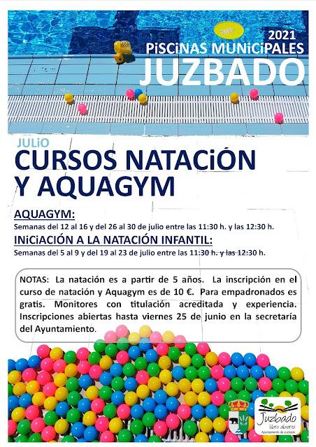 Juzbado, Piscinas, natación, 2021