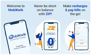 Mobikwik Invite Code 2021 [ZMP6M6] Get Rs 20/Refer