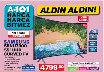 Samsung 55NU7300 55'' Curved Tv