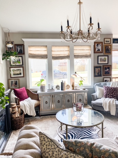 glam eclectic decor