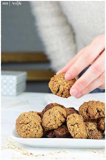 Receta Galletas de Avena y Miel-GALLETAS DE AVENA -Cómo hacer galletas de avena caseras-Galletas de avena fáciles y rápidas