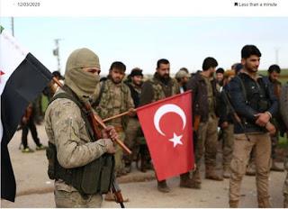 Συρία: Μισθοφόροι των Τούρκων κατέστρεψαν τζαμί