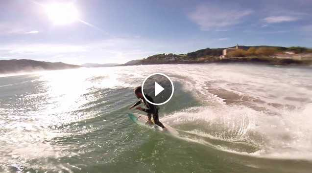 Kepa Acero Refections after accident in Mundaka
