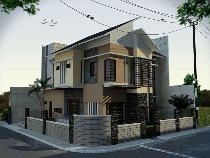 gambar rumah terlihat dari samping 2