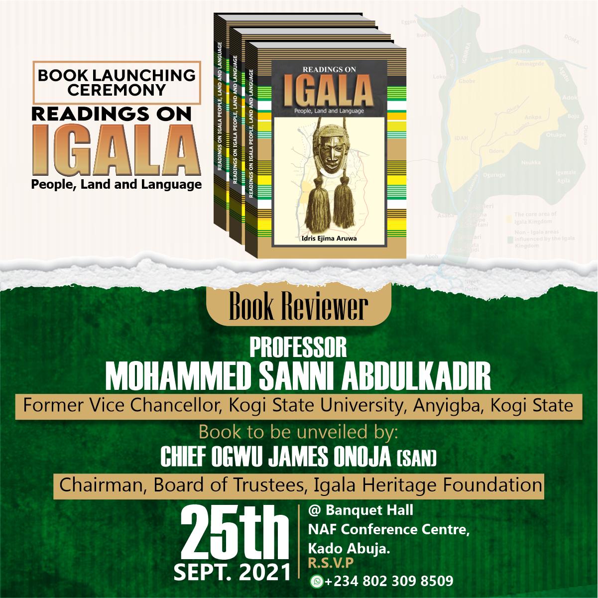 READINGS ON IGALA PEOPLE, LAND AND LANGUAGE