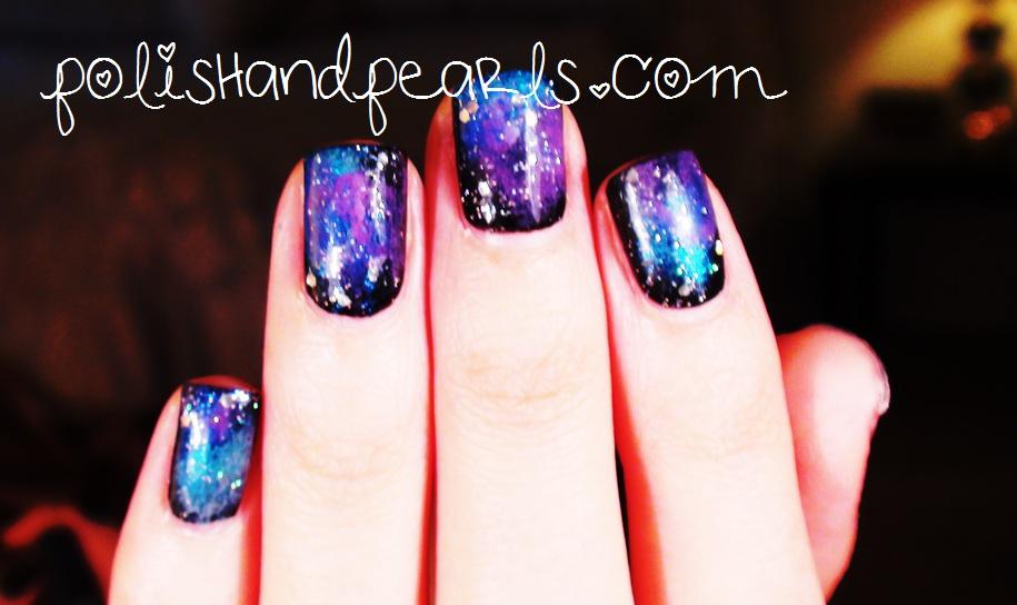 The Fashion Firecracker: Pinspiration #3 DIY Galaxy Nails