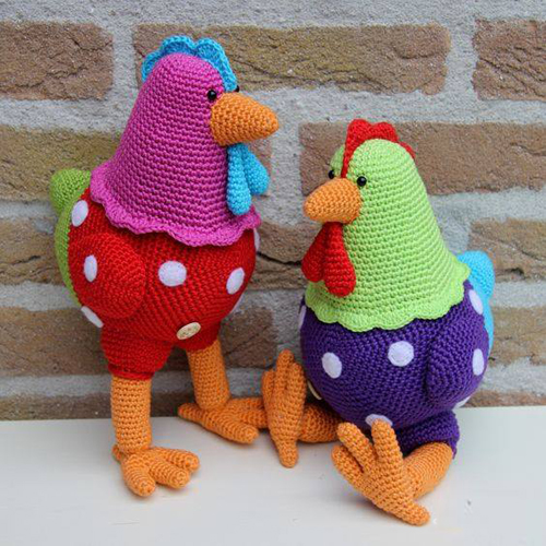 Amigurumi Chicken - Free Pattern