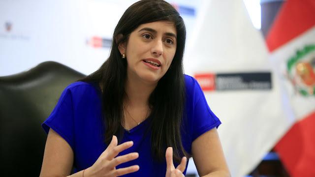 Posible Renuncia de Ministra de Econiomia Maria Antonieta Alva