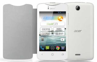 Spesifikasi dan Harga HP Acer Liquid Z3
