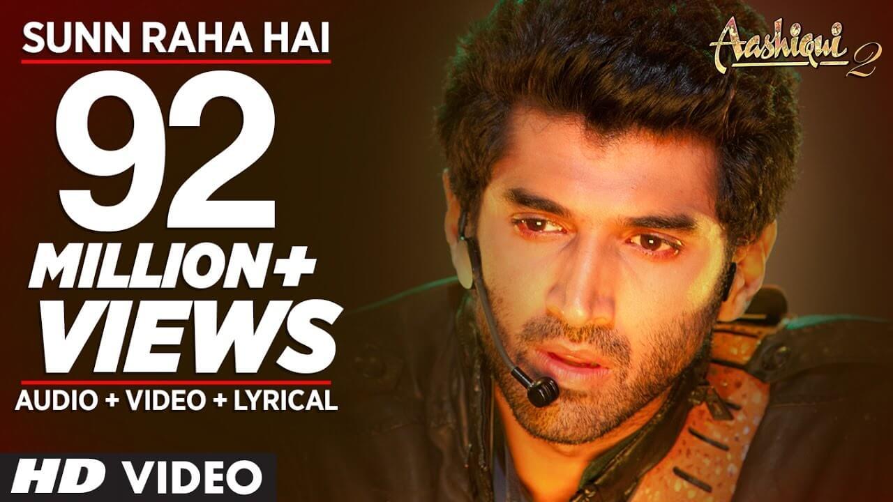 sun raha hai na tu lyrics in hindi