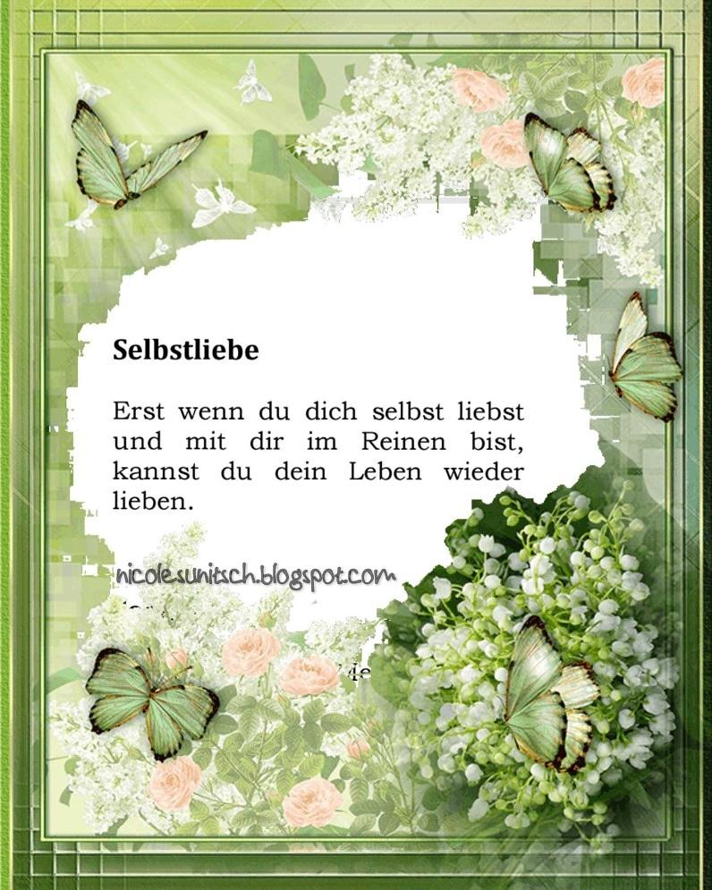 sprüche selbstliebe Gedichte von Nicole Sunitsch   Autorin : Register Sprüche  sprüche selbstliebe