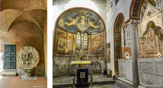 Roma: a Boca da Verdade, Igreja de Santa Maria in Cosmedin (A Princesa e o Plebeu)