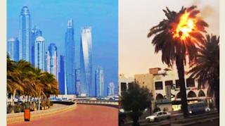 Στους 63 βαθμούς έφθασε ο υδράργυρος στο Ντουμπάι (Βίντεο)