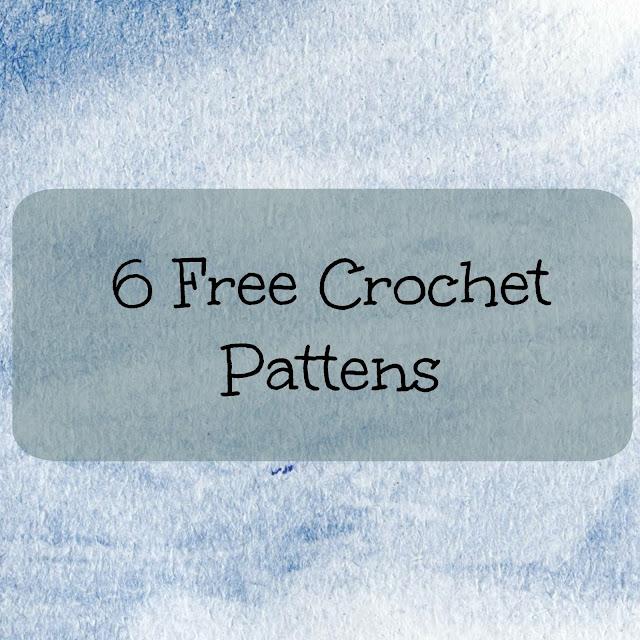 6 Free crochet pattens