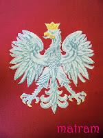 haftowane godlo polski