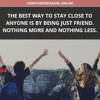 status for best friends