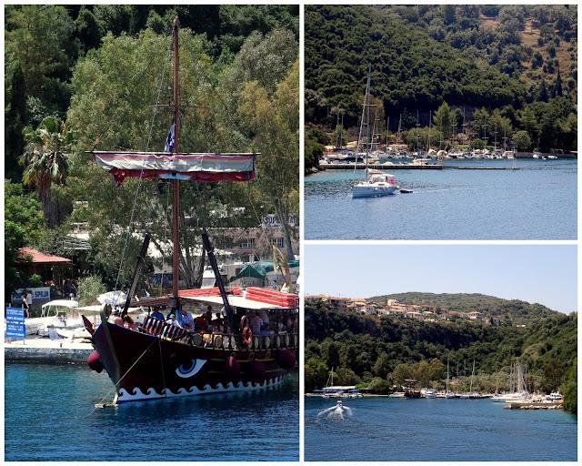 Spilia Harbour, Meganisi
