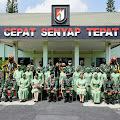 Danrem 074/Wrt Beserta Rombongan Melaksanakan Kunjungan Kerja Di Yonif Raider 408/Suhbrastha